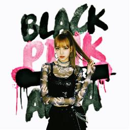 freetoedit blackpink lisa kpop remixit