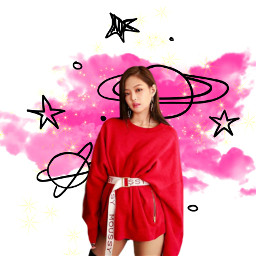freetoedit blackpink jennie kpop remixit