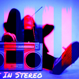 freetoedit lostinstereo alltimelow blueandred stereo
