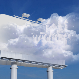 freetoedit clouds sky billboard ircedityourheartout