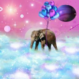 freetoedit space eliphant spacealiphant ircelephant