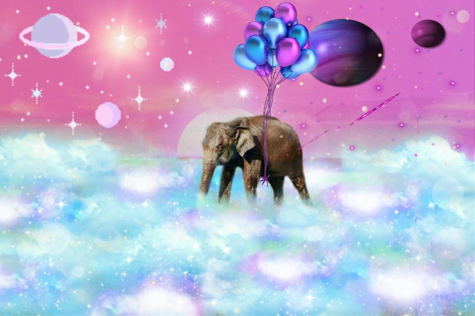 #freetoedit #space #eliphant #spacealiphant