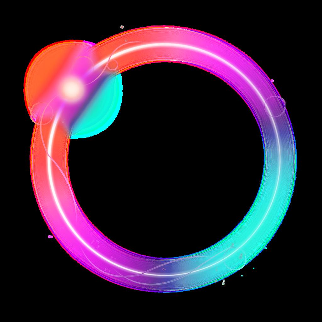 mq color colorful neon circle circles geometric