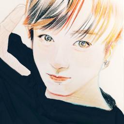 bts illustration singer korea people