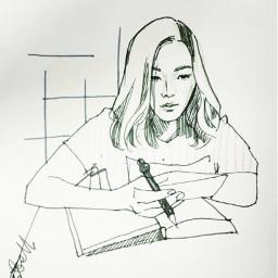 t언니 people art drawing illustration