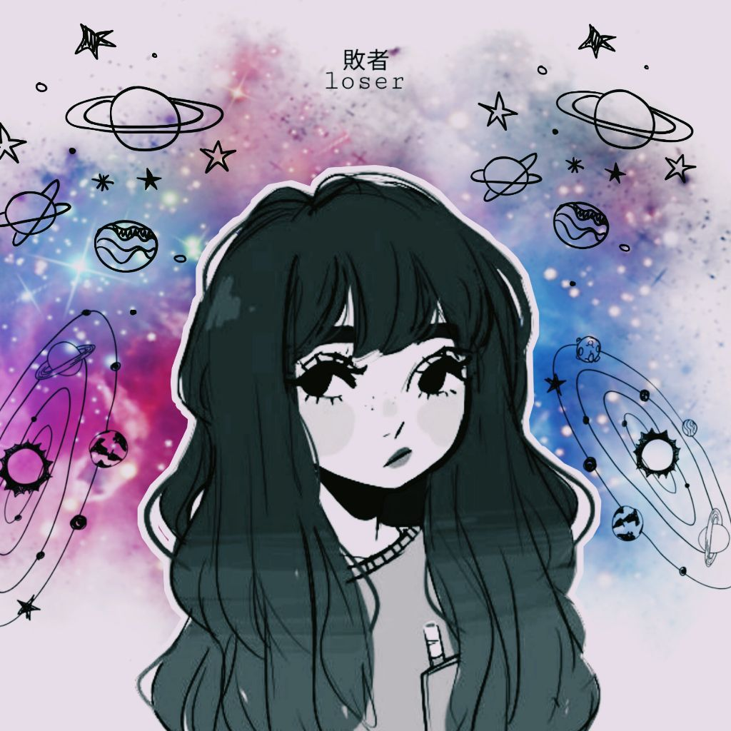 Tumblr galaxy girl galaxygirl tumblrgalaxy