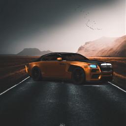 madewithpicsart mood car nature love