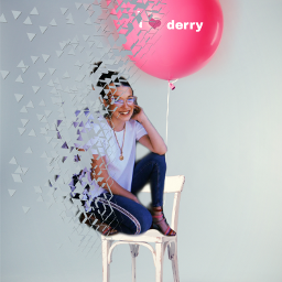freetoedit ilovederry it milliebobbybrown chair ircpinkballoon