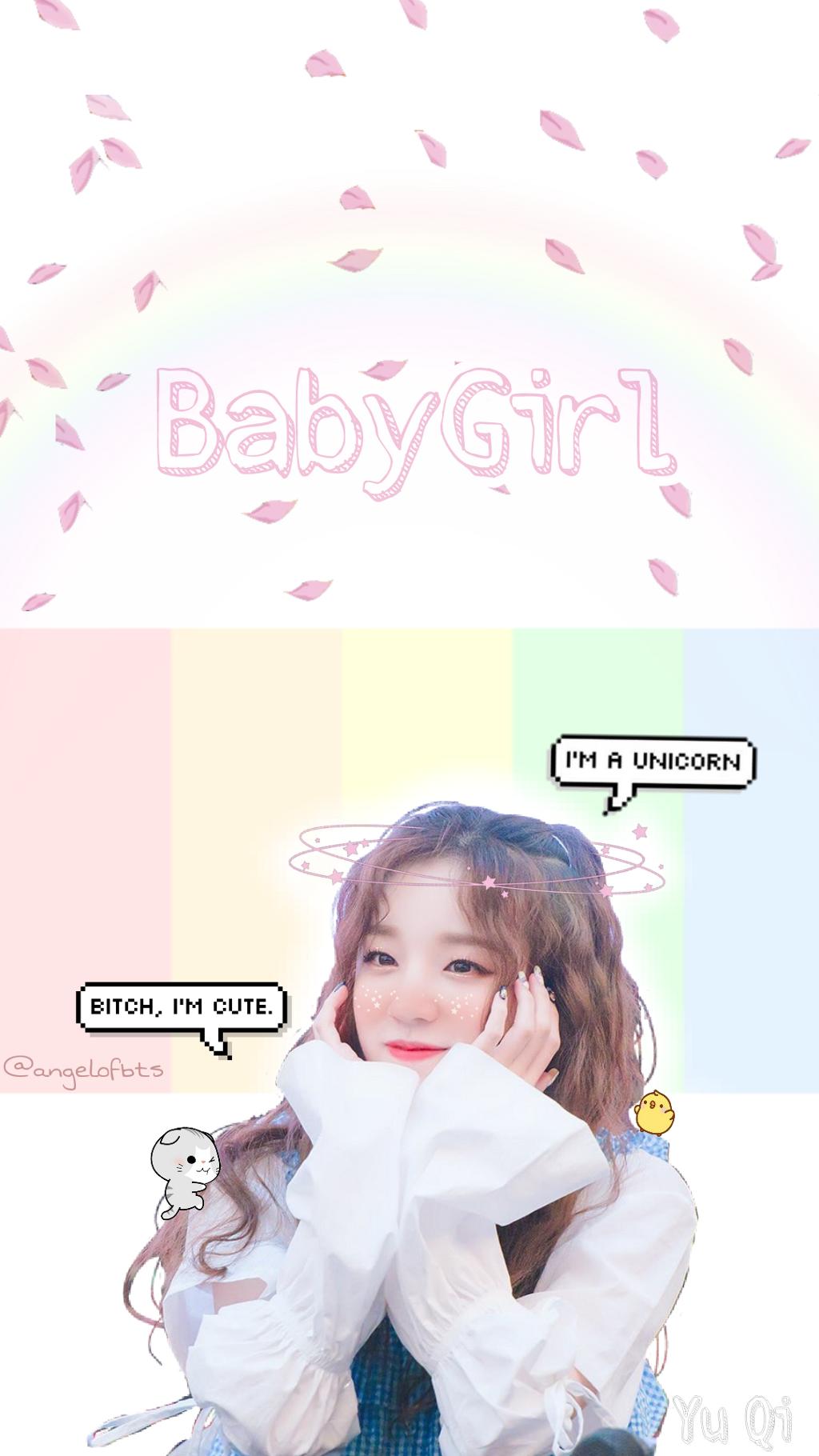 Wallpaper Gidle Yuqi Cute Babygirl Fangirl Kpop Fangirl