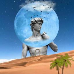 freetoedit ircartfridays desert moon