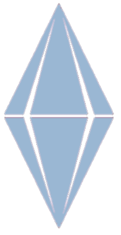 plumbob sims pastelplumbon blue pastel