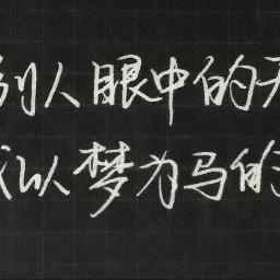 freetoedit handwritten 手写 chinese handwritting
