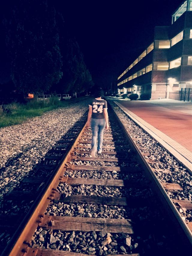 #freetoedit  walking by Gettysburg train track #me #gettysburg #railroad  #myphoto #original