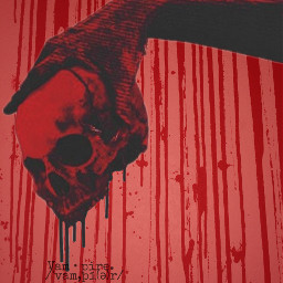 freetoedit scary blood red tumblrphoto