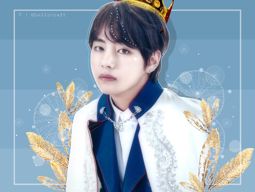 Tae x Prince edition 💙👑  YAY I'm almost finished with all of them 😂 I'm gonna surprise you guys a little with the new theme.... I hope 😆💛  Credits Tae-@rosie_edit 👑😉  #bts #taehyung #kimtaehyung #v #kpop #btsv #prince