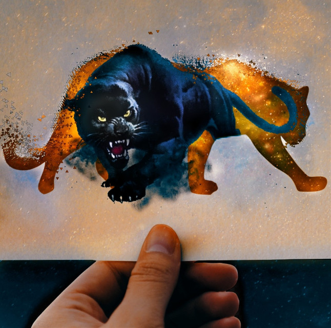 #myedit#panther#sticker#remix#