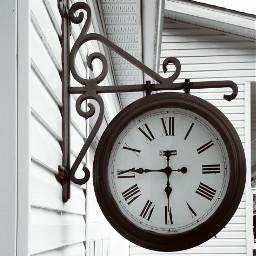 freetoedit clock wallclock modifiedblackandwhite blackandwhite