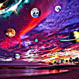 freetoedit background galaxy cosmic universe