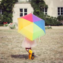freetoedit autumn umbrellagirl umbrella girl