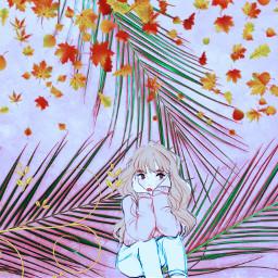 freetoedit fall season girl fashion