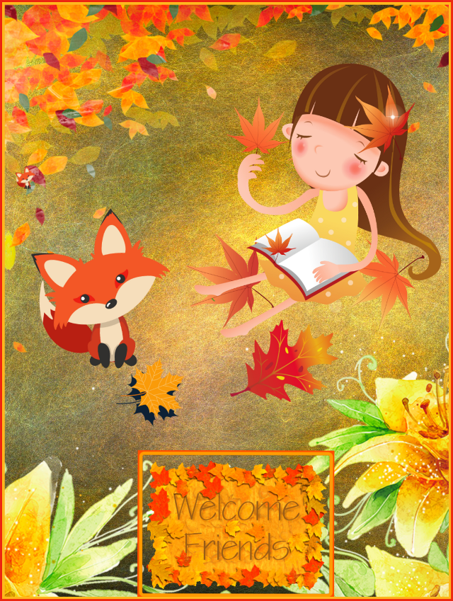 #freetoedit #autumn #hellofall #girl #redfox #cartoon #cute #colorful #fallleaves #textonphoto #stickerart #squarefit #adjusttools #blending #myedit #madewithpicsart