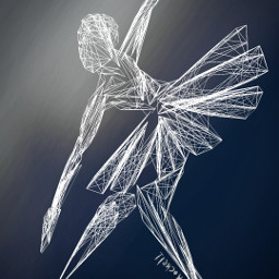 freetoedit ballerina simplicity drawing