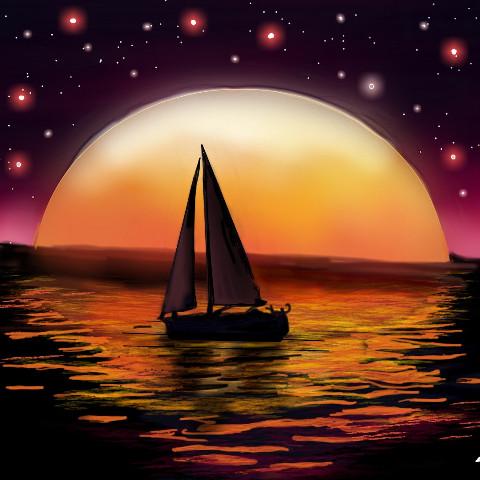 #dcfishingweek,#dcboats,#boats,#madewithpicsart,#digitalpainting