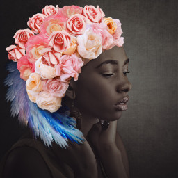 freetoedit women beautiful hair crown