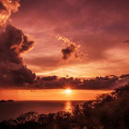costarica travel nature sunset artistic