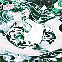 freetoedit dailyremixchallenge mothernaturesartwork mothernature greenmagiceffect ircsavetheoceans