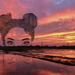 freetoedit tramonto mare tumblr ragazzatumblr