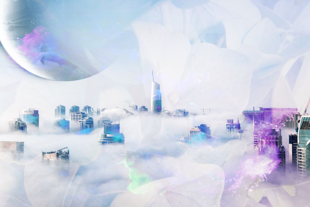 #freetoedit #doubleexposure #overlay #flowers #city #clouds #horizon #colorsplash -- Sorry if this is considered spam, but I'm having a blast....