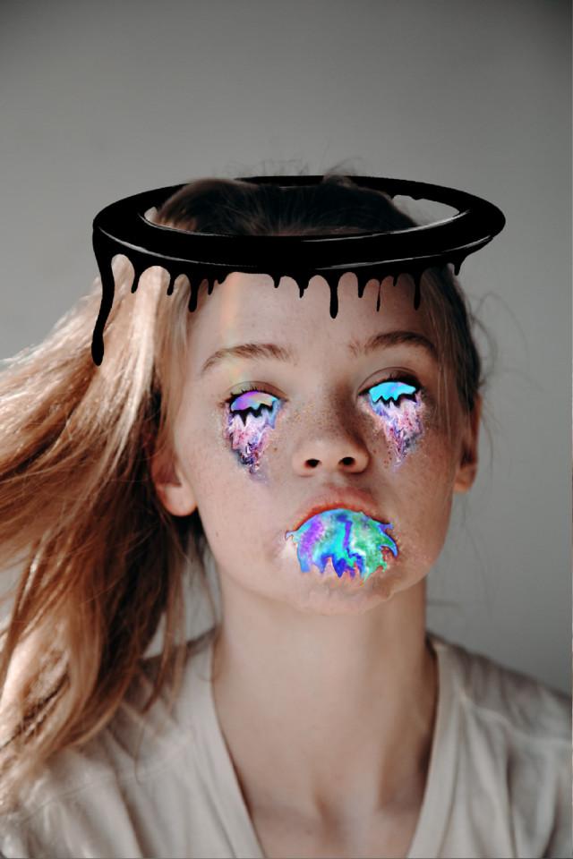 #freetoedit #slime #art #beautiful #holographic #girl #women #slimeart #picsart #colorful #aesthetic #glitter #glittertears #hologram #idk #cute #kawaiigirl #remix #kawaii #eyes #eyegalaxy🌌 #remixit