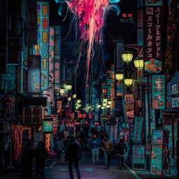 city architecture fosh jellyfish street photography people water food surreal edit myedit