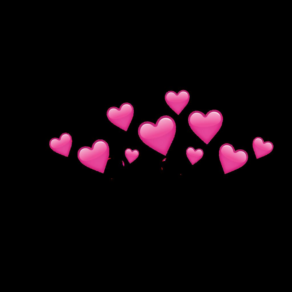 Hearts crown flowercrown sticker by tikku izmirmasajfo