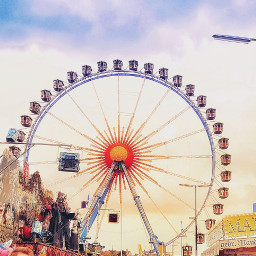 freetoedit ferriswheel oktoberfest munich fun pcamusementpark