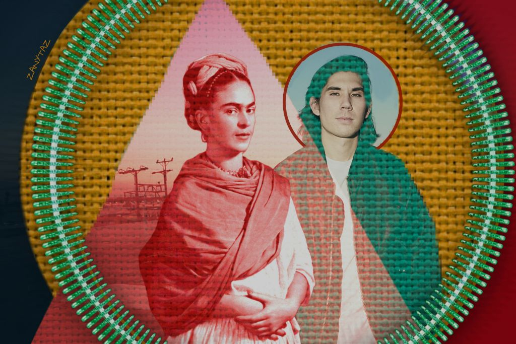 #freetoedit #fridakahlo loves #gryffin ❤