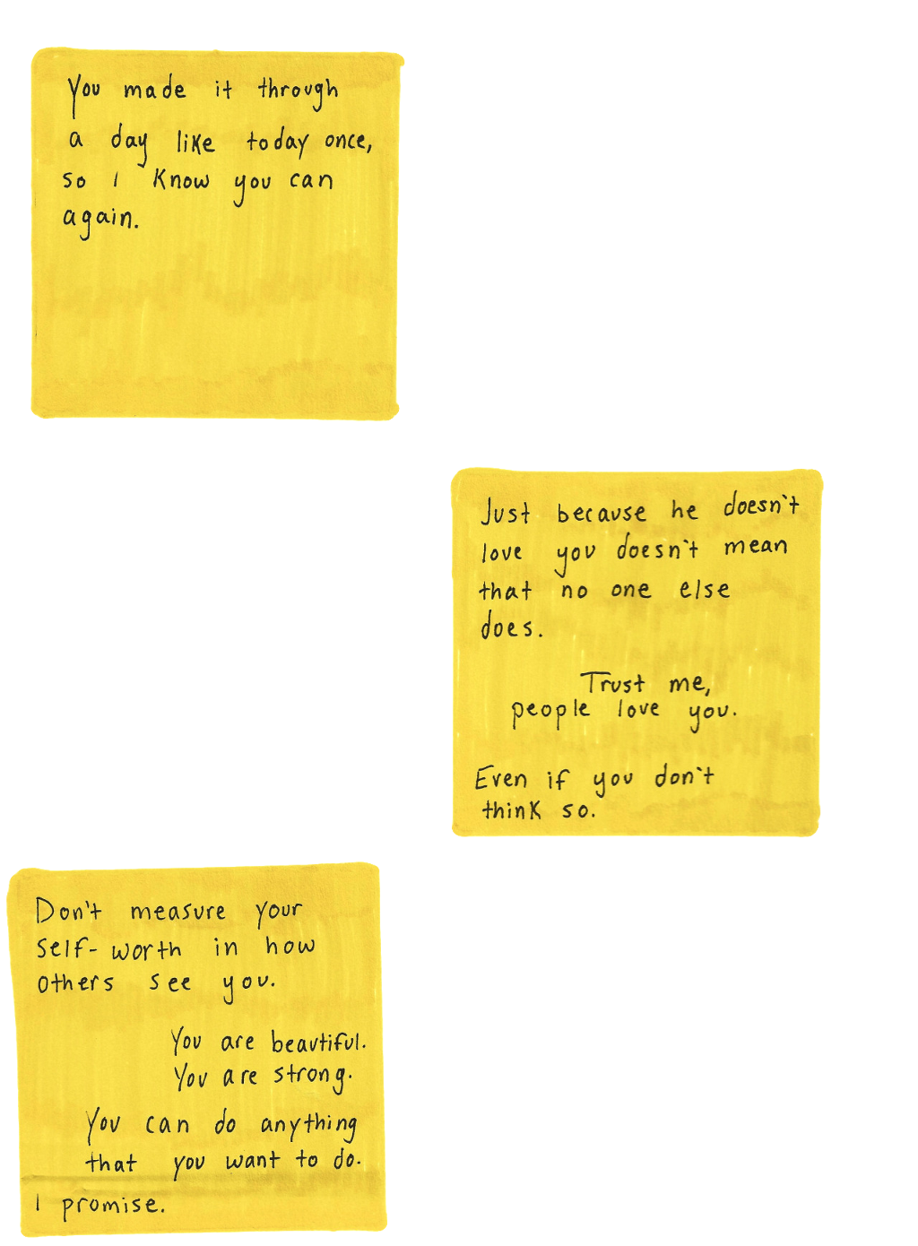 postit yellow aesthetic tumblr kpop lyrics