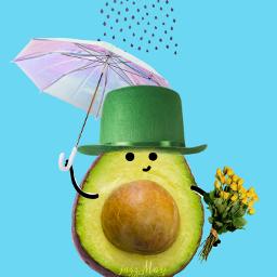 freetoedit avocadoenamorado floriciento floresamarillas ellasabia