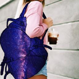 freetoedit bag galaxy galaxyedit galaxymagiceffect ircstylishbackpack