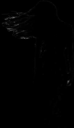 freetoedit silhouette girl woman lady ftestickers