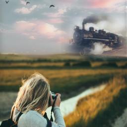 freetoedit camerawork train gradation