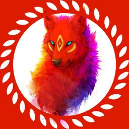 freetoedit wolf tribal shapemask drawtools