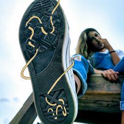 freetoedit remixme remixit girl shoe