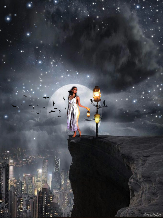 #freetoedit #picsart #remixit #myedit #lanterns #nightsky @ericaloka