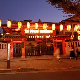 japaneselantern lanturn 提灯 temple red pcnightlights