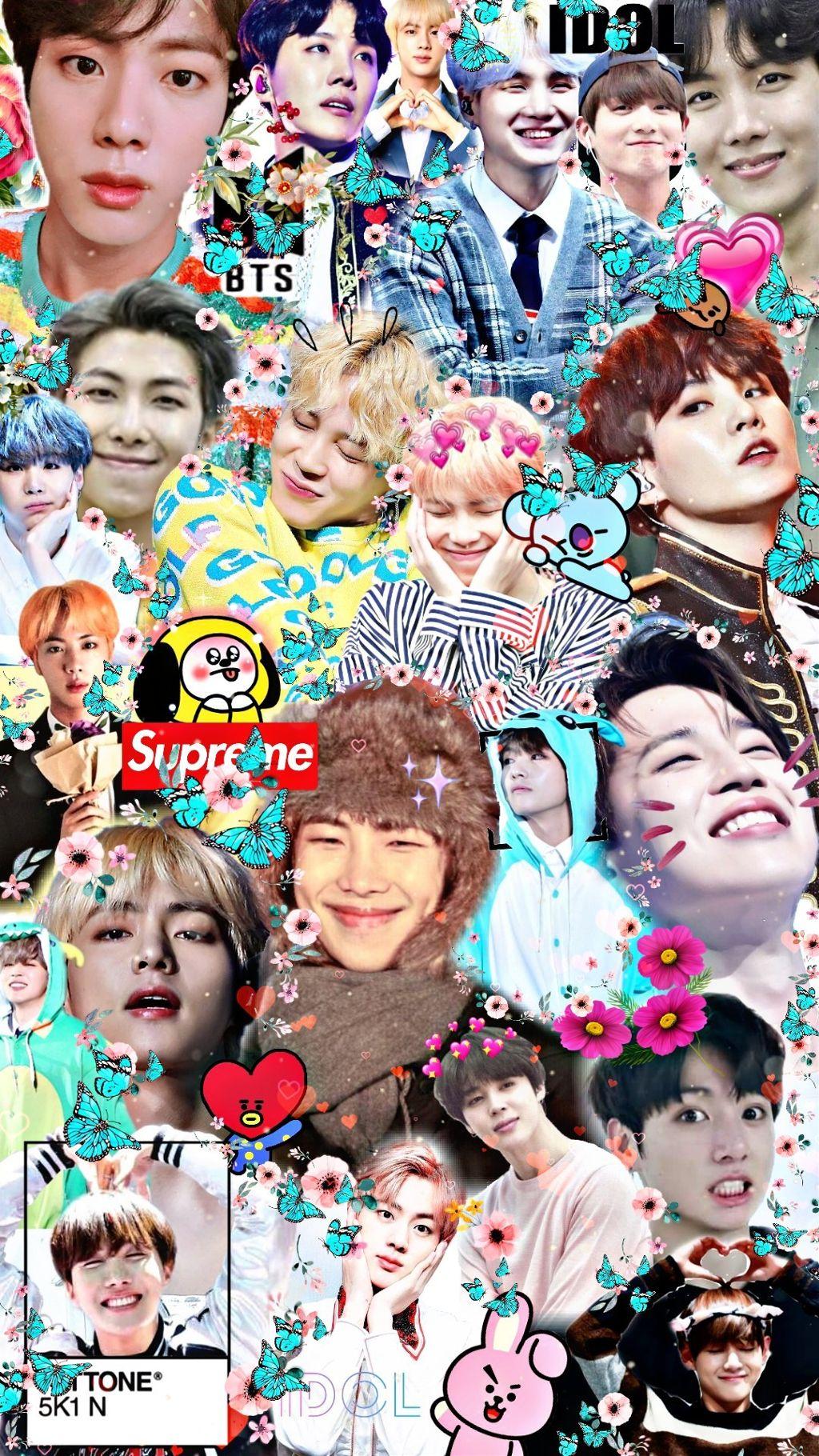Download 400 Wallpaper Bts Collage