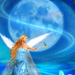 freetoedit fantasyart fairytalebackground fairy lighteffects