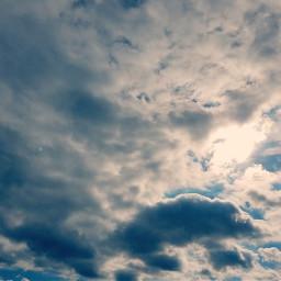 clouds sun sky fxtools lightcross freetoedit