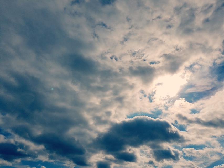 #clouds #sun #sky #fxtools #lightcross #september2018  #freetoedit